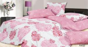 Комплект постельного белья сатин Ecotex  Амур 1,5 сп