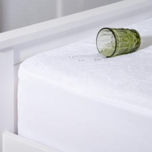 Простынь на резинке водонепроницаемая Аквастоп-фланель