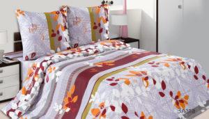 Комплект постельного белья поплин Злата Дуэт