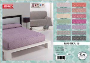 Покрывало на кровать/диван Rustica 19 Pistachio (Испания)