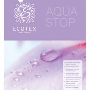 Простынь на резинке водонепроницаемая Аквастоп-плюш 60*120 см