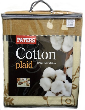 Плед Paters Cotton Морской