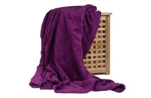Плед Elegance фиолетовый 150*200 см