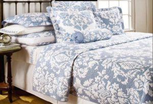Покрывало Lux Cotton с наволочками Париж без канта