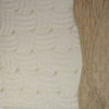 Покрывало  Lux Cotton  Марсель с наволочками бежевый с кантом вышивка
