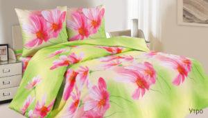 Комплект постельного белья поплин Утро 2-сп Макс
