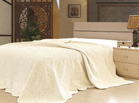 Покрывало  Lux Cotton  Магия с кантом вышивка