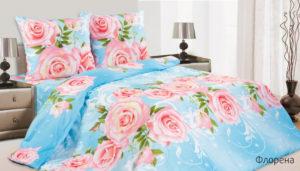Комплект постельного белья поплин Флорена