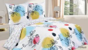 Комплект постельного белья поплин Гейша