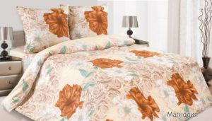 Комплект постельного белья поплин Магнолия