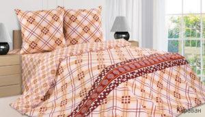 Комплект постельного белья поплин Караван 2,0 на резинке