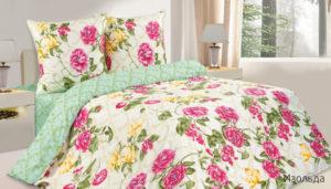 Комплект постельного белья поплин Изольда
