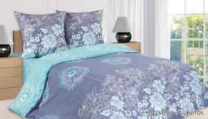Комплект постельного белья поплин Нефритовый цветок