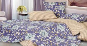 Комплект постельного белья сатин Нега