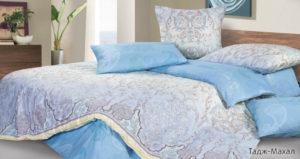 Комплект постельного белья сатин Тадж-Махал 2-сп Макс