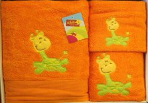 Детские полотенца Valentini JUNIOR Giraffe (Португалия)