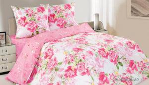 Комплект постельного белья поплин Очарование