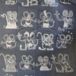 Одеяло шерстяное Мыши