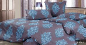 Комплект постельного белья сатин Ecotex  Персия