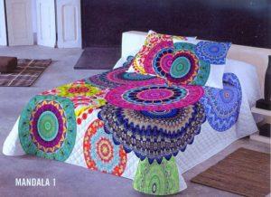 Покрывало DiVayne  Mandala (Испания) + 2 наволочки