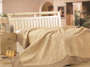Покрывало  Lux Cotton  Персия+2 наволочки с кантом вышивка