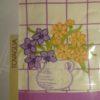 Скатерть   VINGI RICAMI  (Италия) Алессия-В фиолетовая