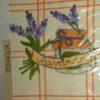 Скатерть   VINGI RICAMI  (Италия) Сабрина-В оранжевая клетка