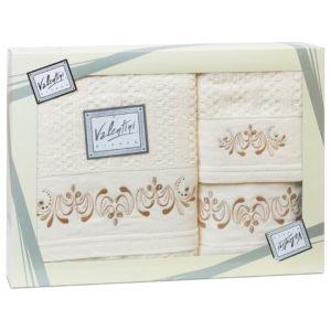 Махровые банные полотенца с вышивкой Valentini арт.10005 103(Португалия)