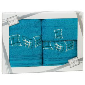 Махровые банные полотенца с вышивкой Valentini арт.80815 1185 (Португалия)
