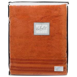 Махровые банные полотенца однотонные Valentini Aqua 1128 (Португалия)