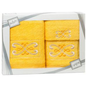 Махровые банные полотенца с вышивкой Valentini FANTASY 2 1121 (Португалия)