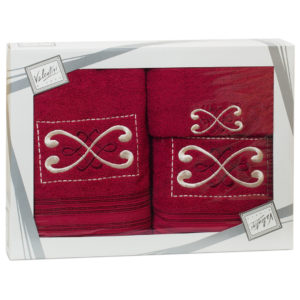 Махровые банные полотенца с вышивкой Valentini FANTASY 2 1148 (Португалия)