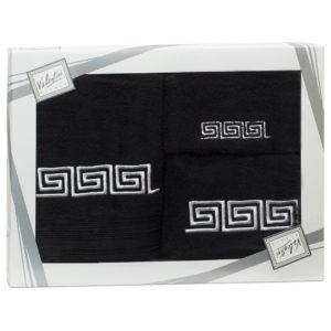 Махровые банные полотенца с вышивкой Valentini FASHION 2 1099 (Португалия)