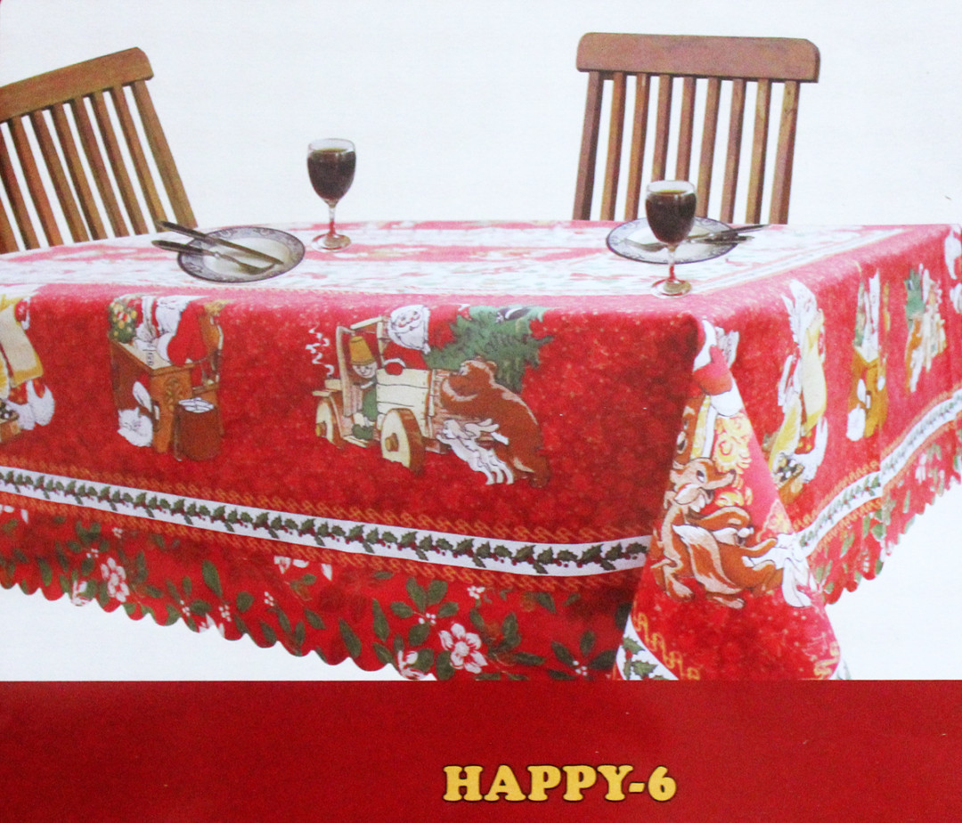 Скатерть  GRAND TEXTIL  Happy-6 (Италия)