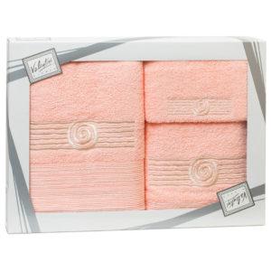 Махровые банные полотенца с вышивкой Valentini SEA 1 2105 (Португалия)