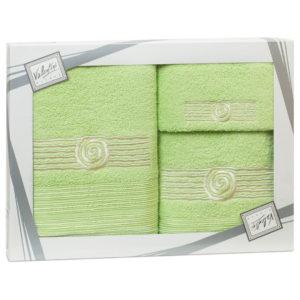 Махровые банные полотенца с вышивкой Valentini SEA 1 2115 (Португалия)