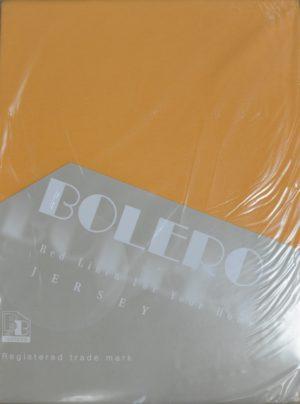 Трикотажные простыни на резинке Bolero Т-62 оранжевый