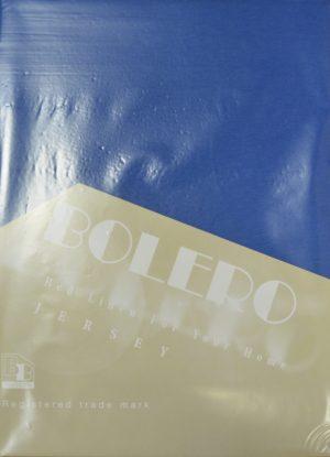 Трикотажные простыни на резинке Bolero Т-74 синий