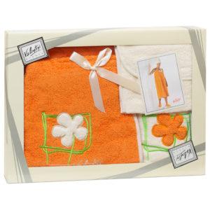 Набор парео+полотенце Valentini Flower2 1123 жен. (Португалия)