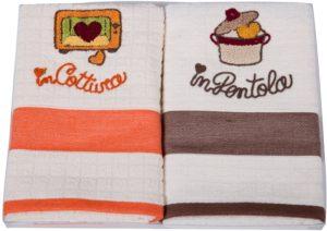 Набор полотенец для кухни Vingi Ricami
