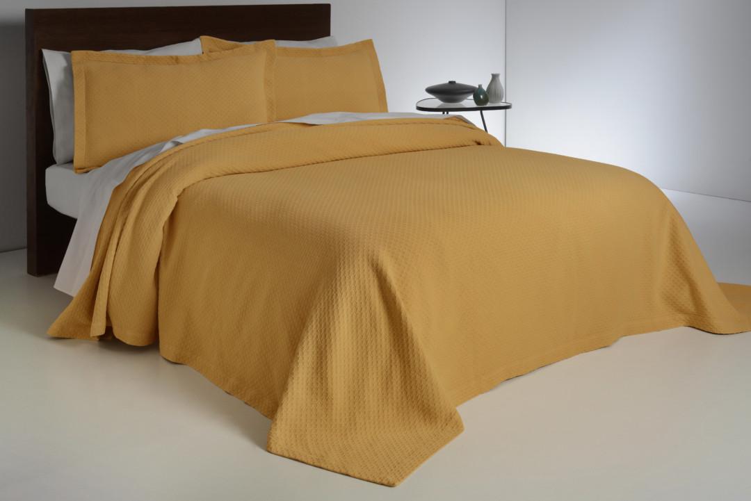 Покрывало на кровать Ruby 52821 Yellow Antonio Salgado