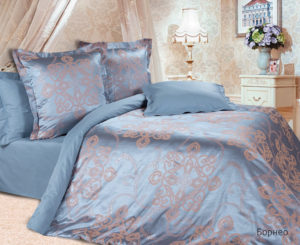 Комплект постельного белья сатин-жакккард Борнео