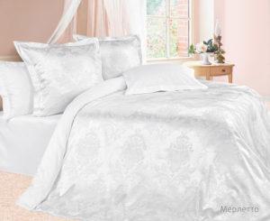 Комплект постельного белья сатин-жакккард Мерлетто