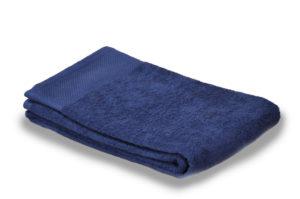 Полотенце махровое однотонное синий