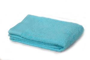 Полотенце махровое однотонное голубой