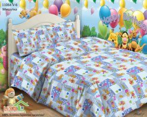 Детское постельное белье Мишутка 1.5- сп
