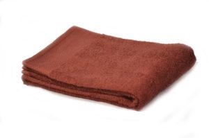 Полотенце махровое однотонное шоколад