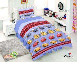 Детское постельное белье Тачки 1.5- сп