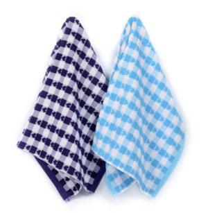 Набор полотенец для кухни Сердечки 2 шт