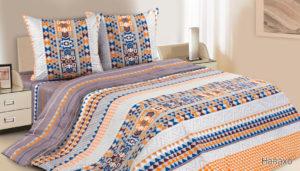 Комплект постельного белья поплин Навахо 2-сп Макс